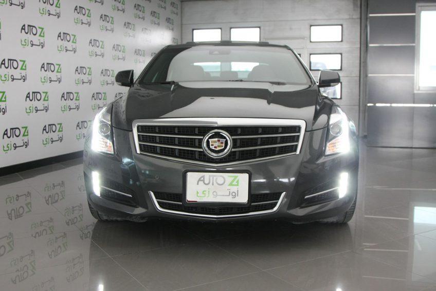 Grey Cadillac ATS V6 at autoz Qatar