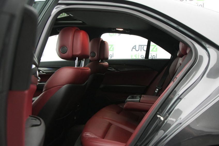 Grey Cadillac ATS V6 interior