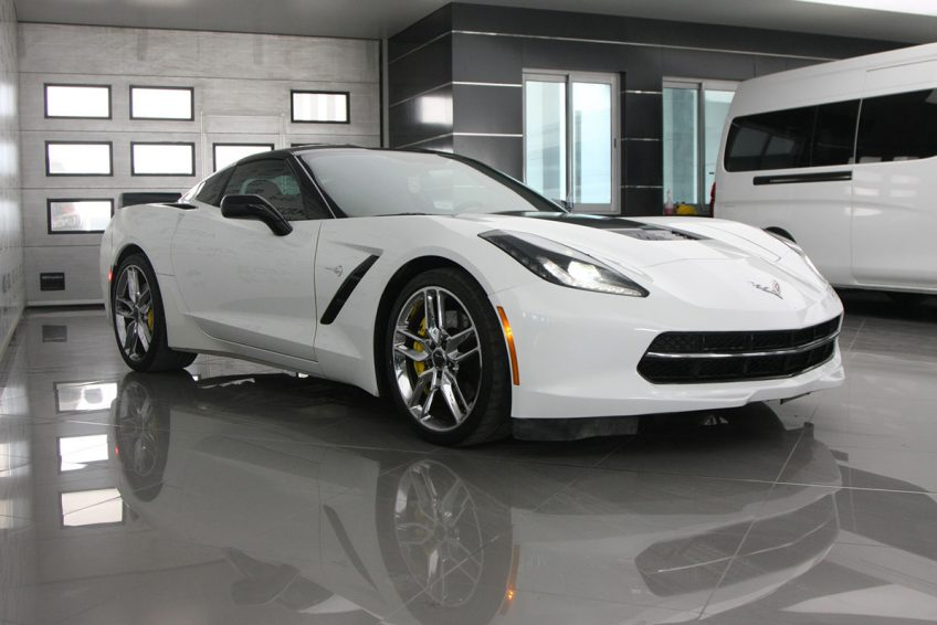 Chevrolet Corvette C7 in AutoZ the best car showroom in Qatar