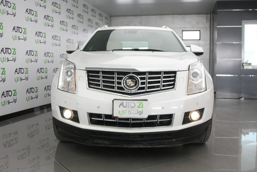 Used White Cadillac SRX 4 at autoz Qatar