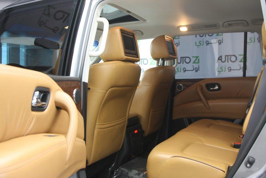 Nissan Patrol Platinum V8 Grey