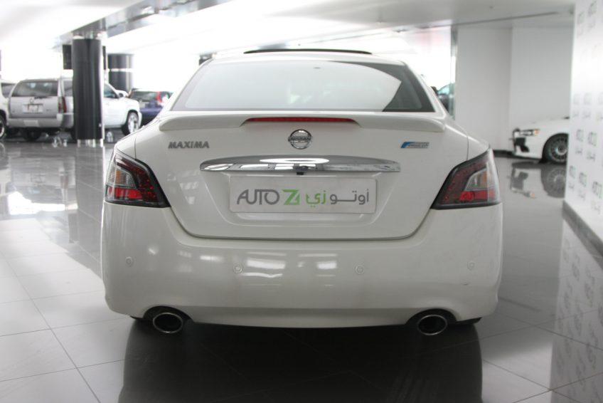 2012 Nissan Maxima White Color Autoz Qatar