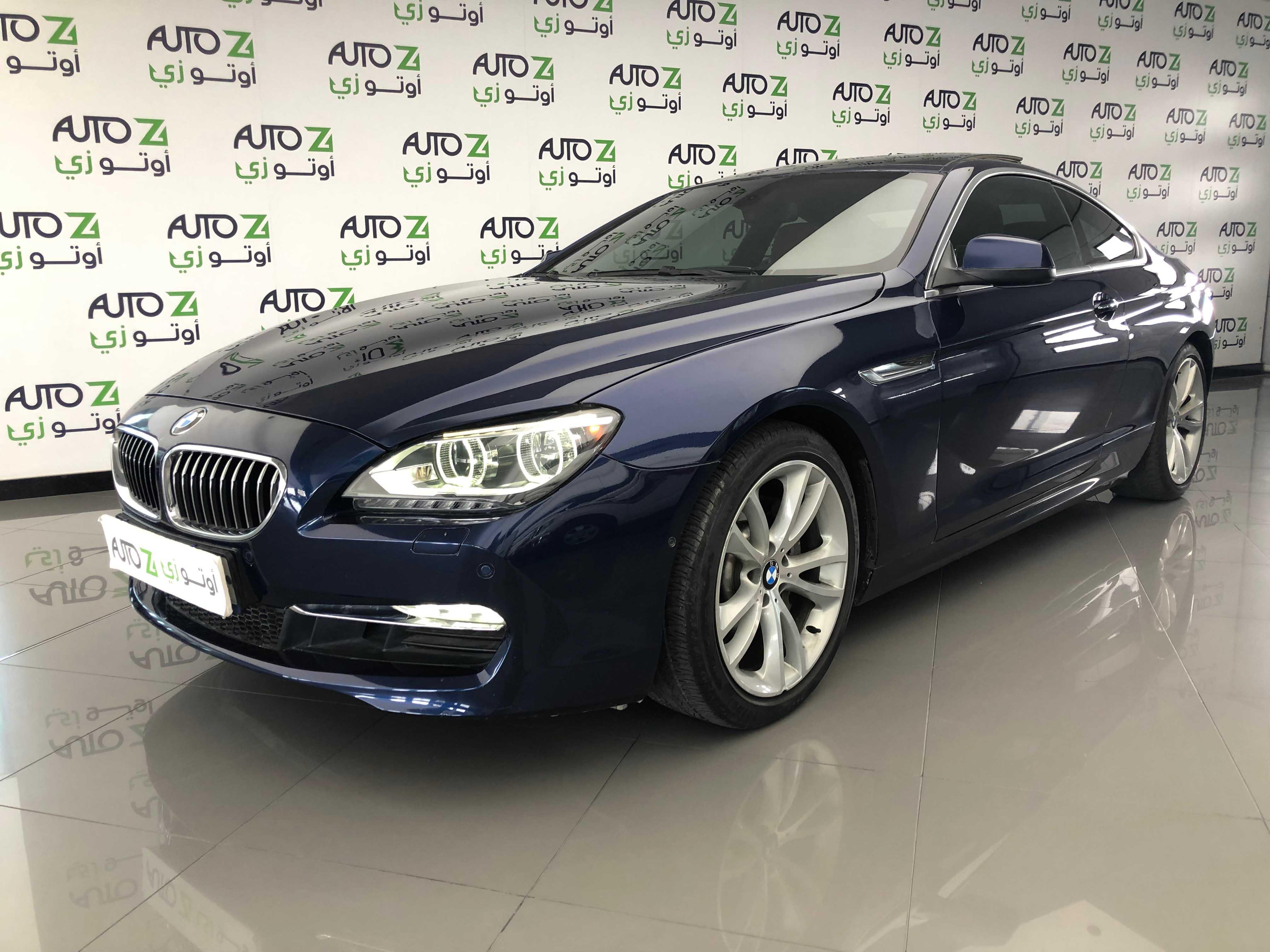 2012 BMW 6-Series 640i