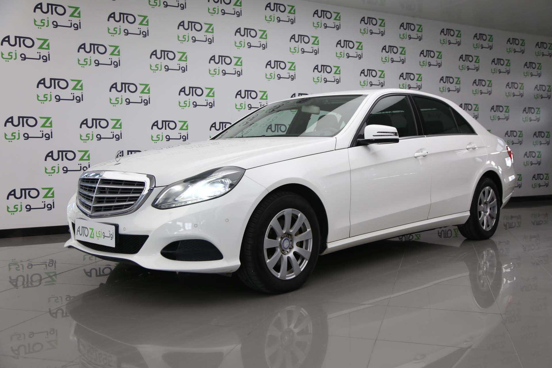 Mercedes-Benz E-Class 200 2014 White