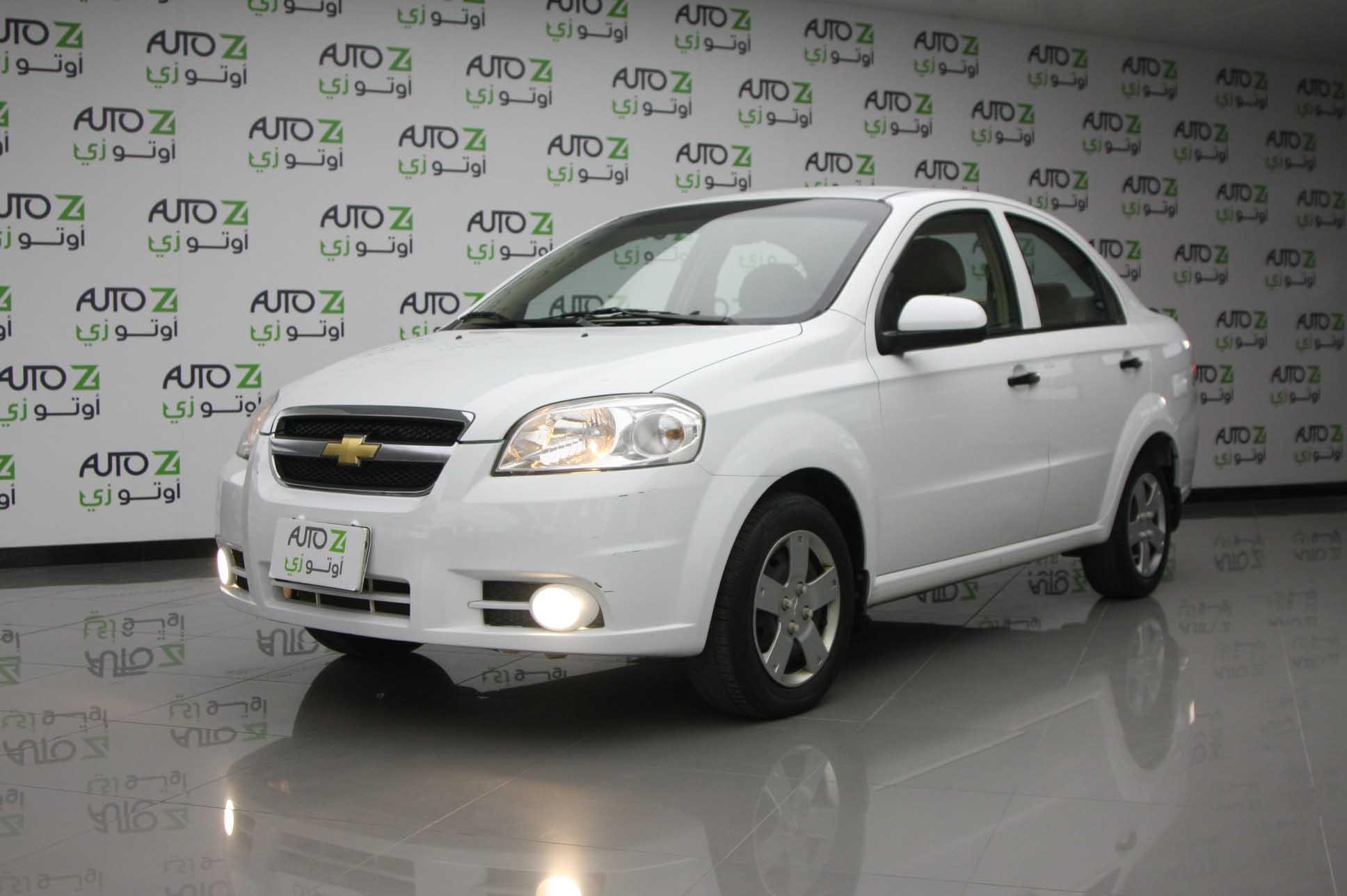 Chevrolet Aveo LS – 2016 White 9