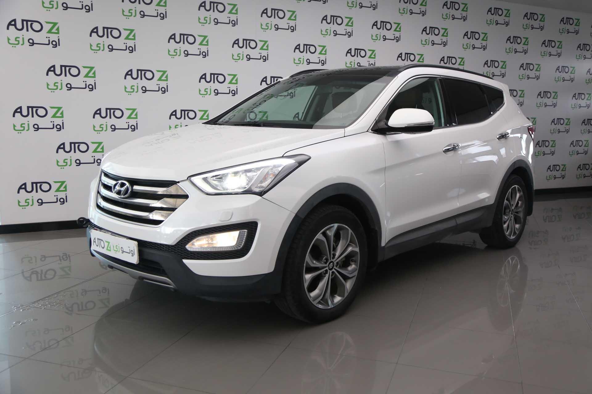 2015 Hyundai Santa Fe – White 2