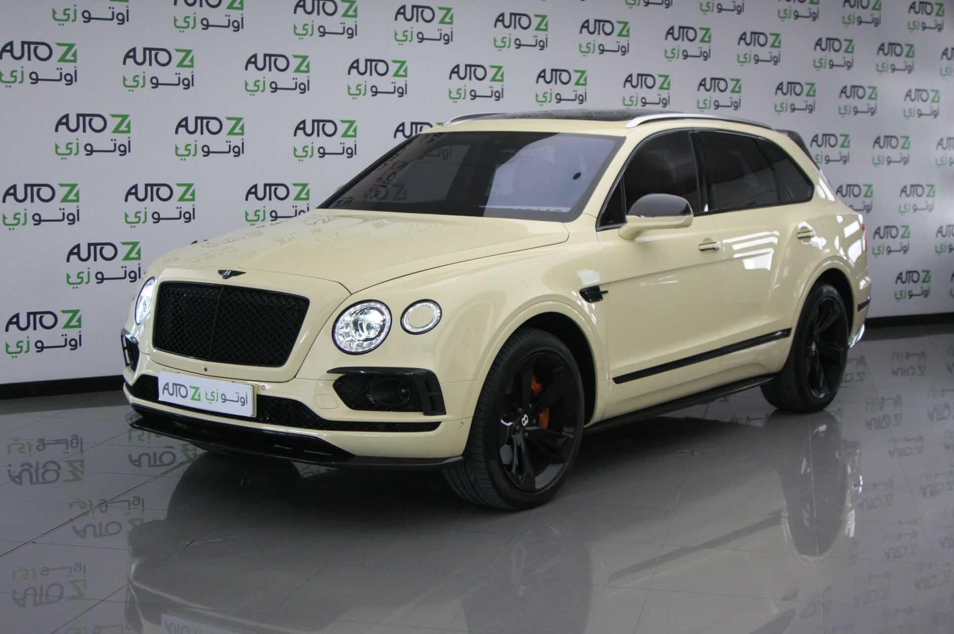 Bentley Bentayga 2018 – Biege