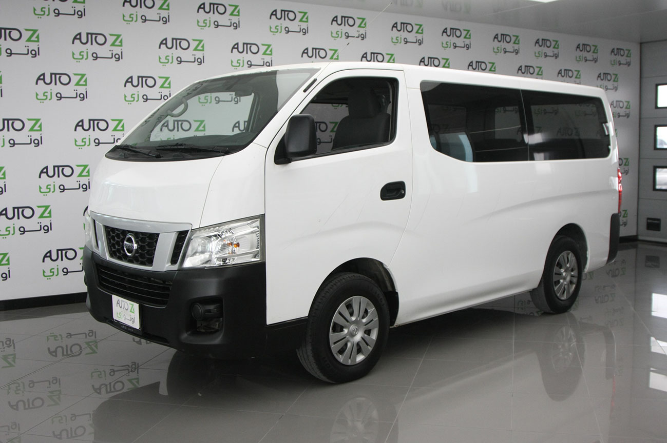 Nissan Urvan White 2015 – 14
