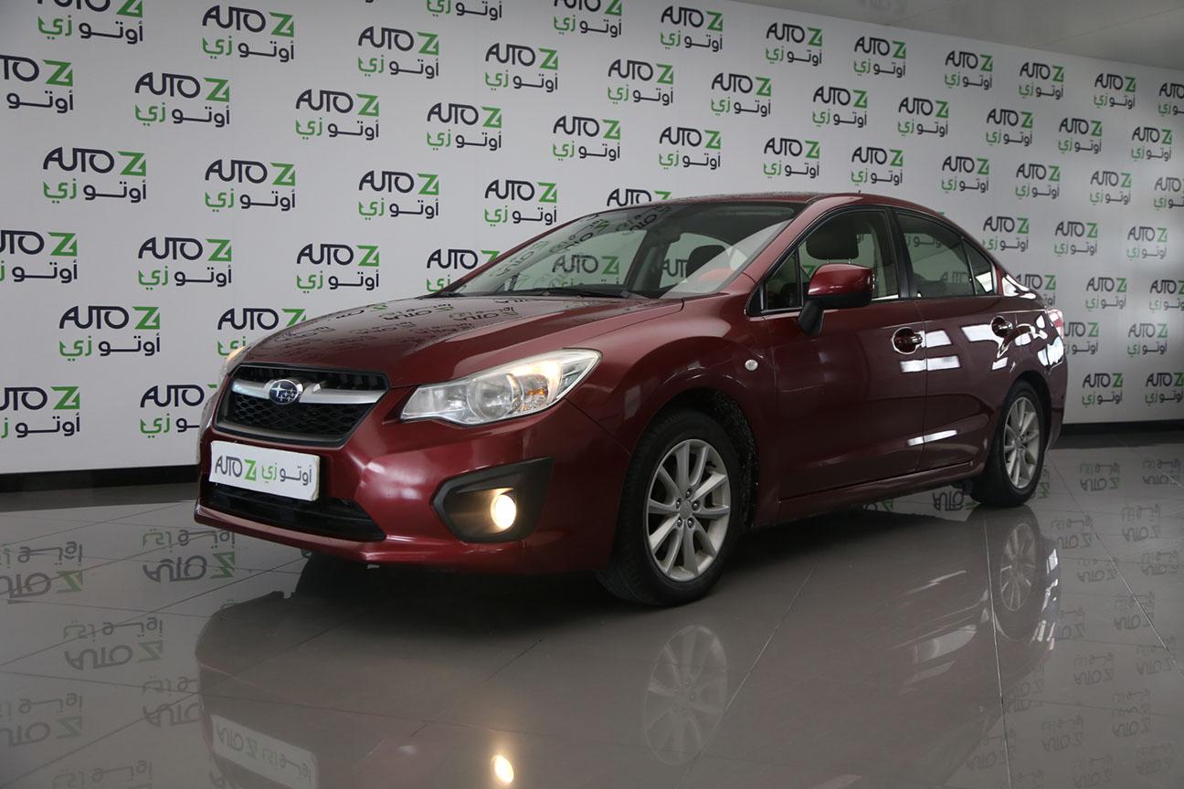 Subaru Impreza – Maroon – 2015