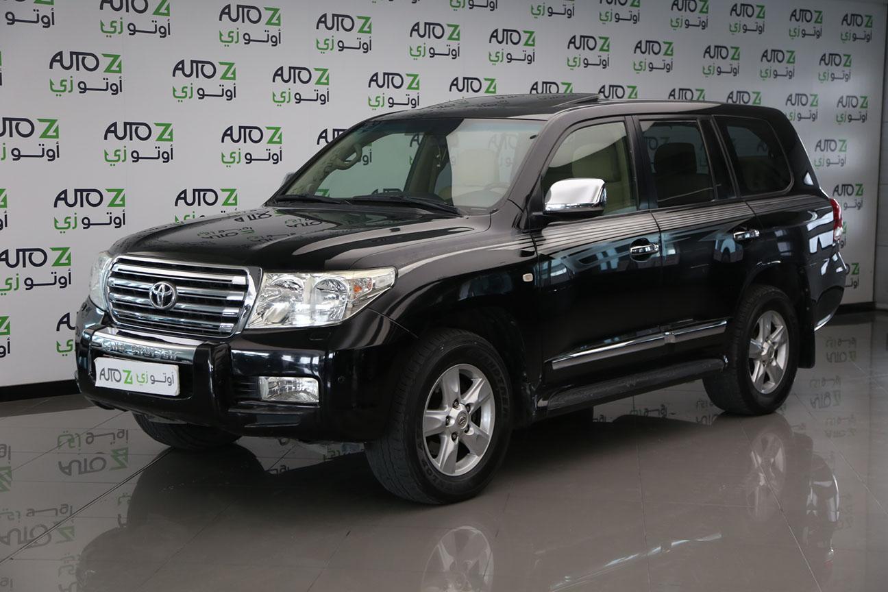 Toyota Land Cruiser VXR – 2009 Black