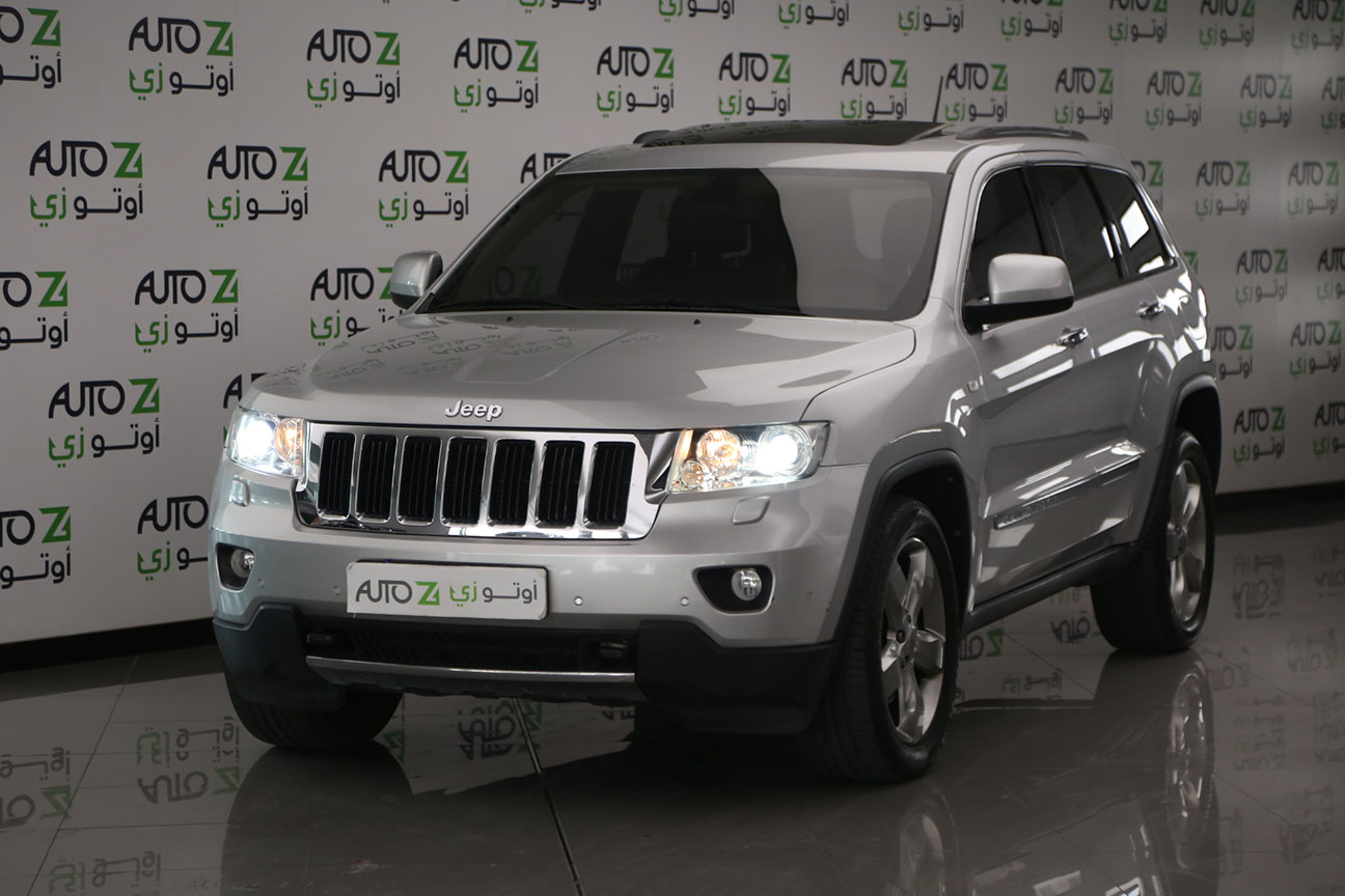 Jeep Grand Cherokee Limited 2013 -Silver 6
