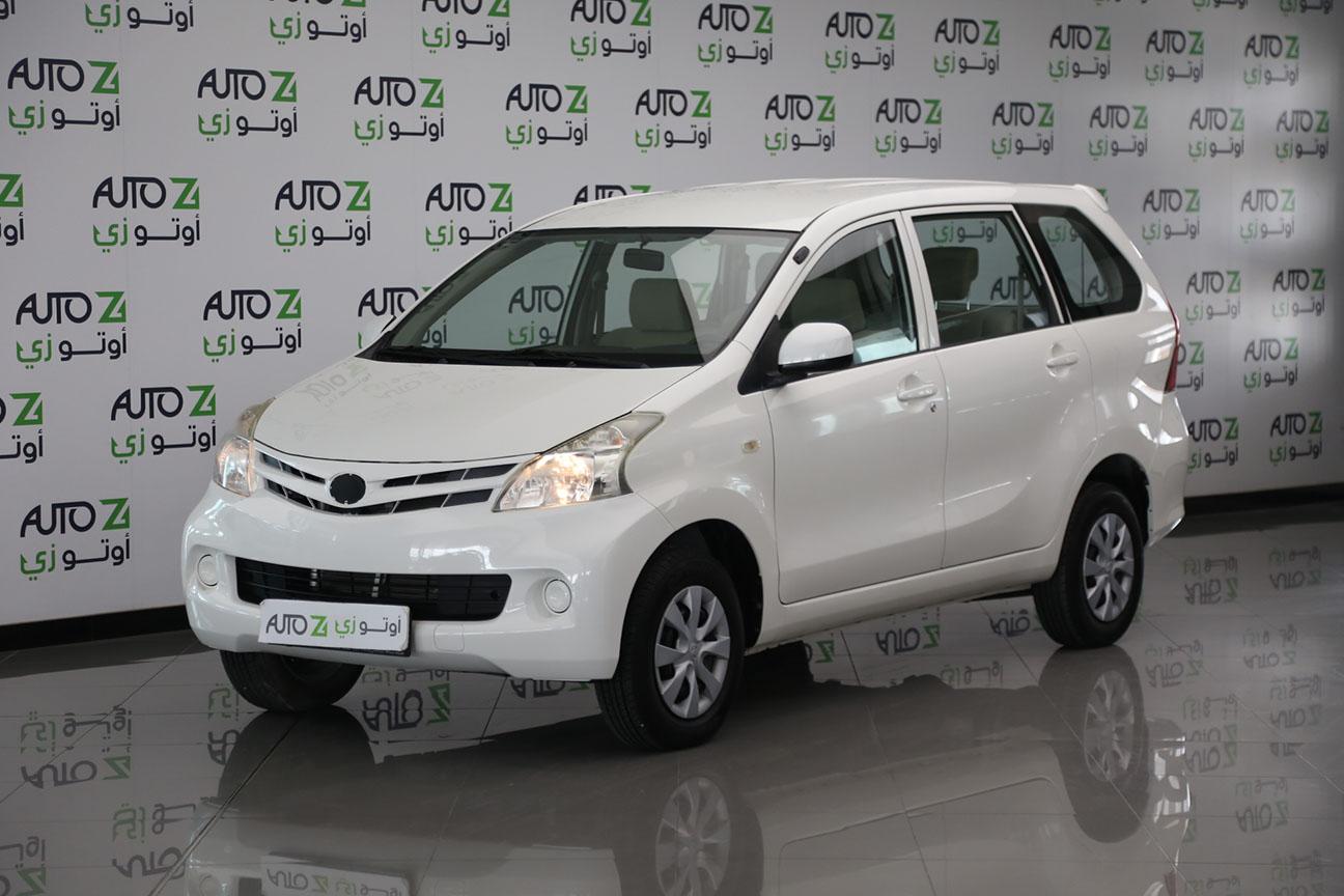 Toyota Avanza -White – 2015