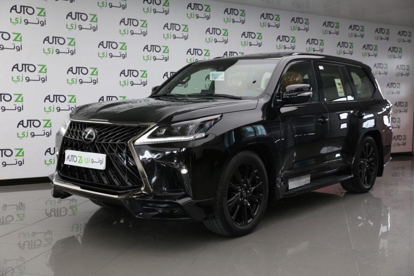 lexus lx 570 s black edition 2020 • | autoz qatar