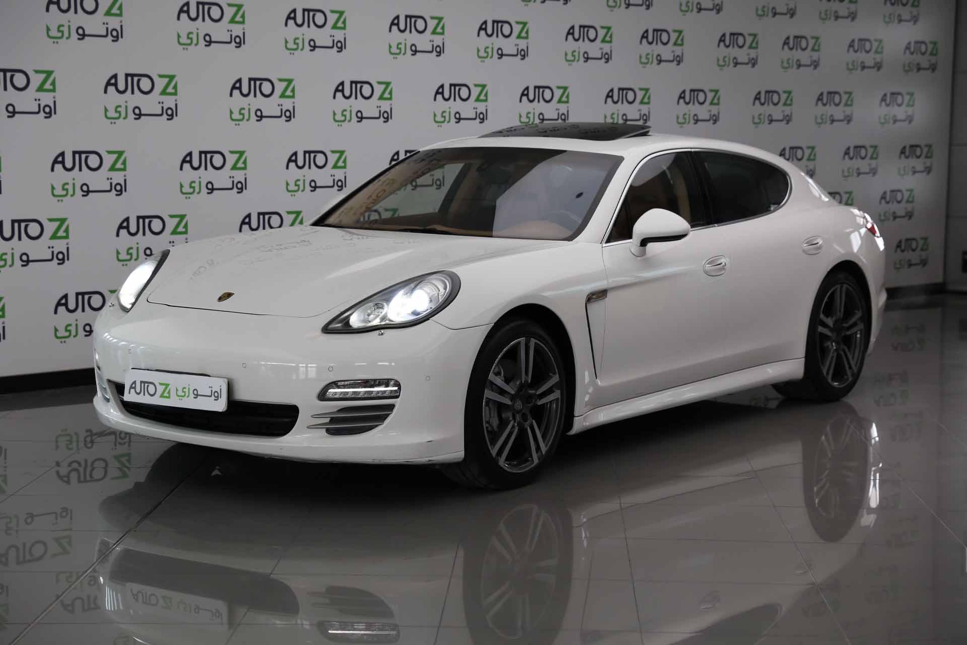 Porsche Panamera 4S – 2012 White–