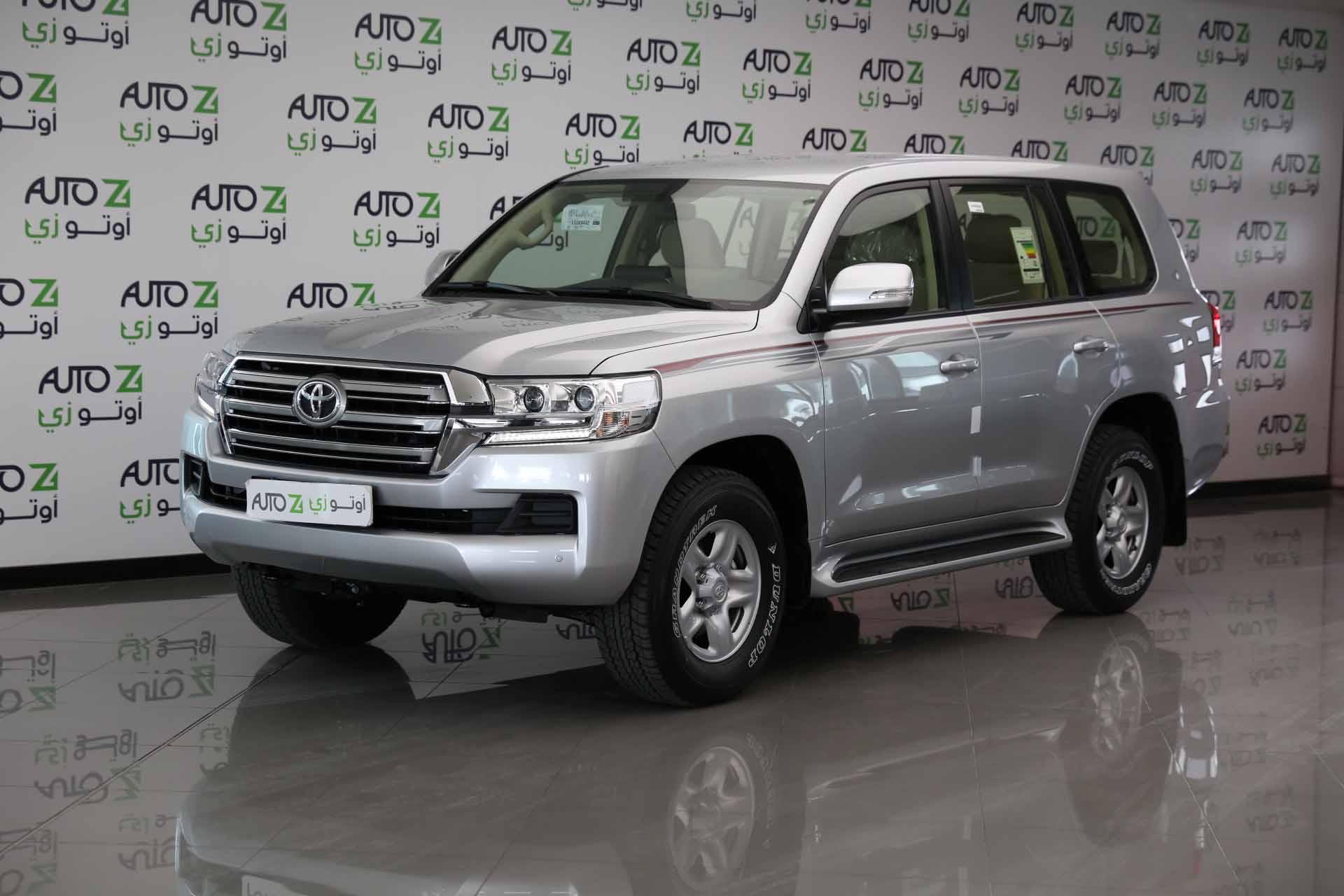 Toyota Land Cruiser GXR—Silver -2020