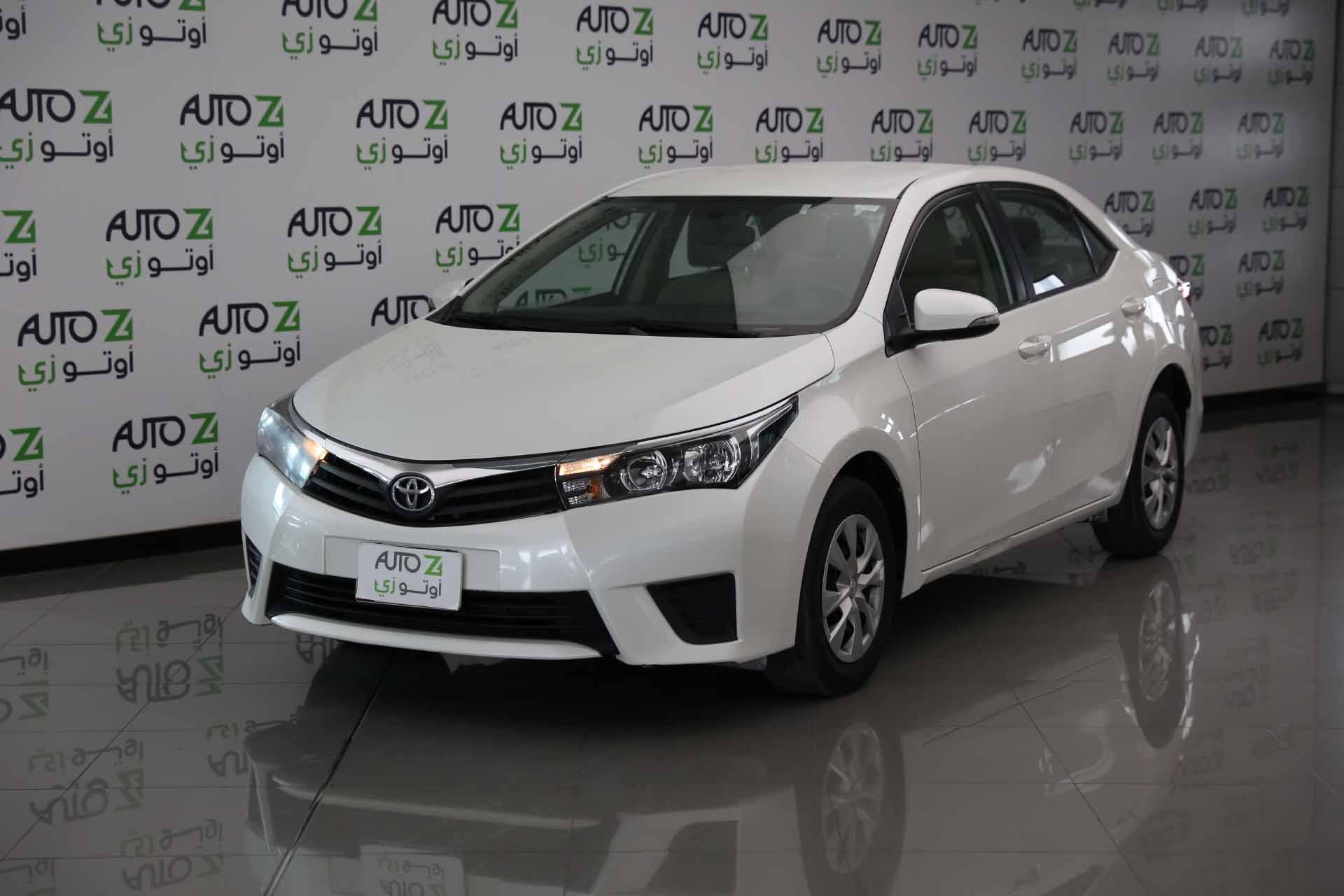 Toyota Corolla XLI- -2015