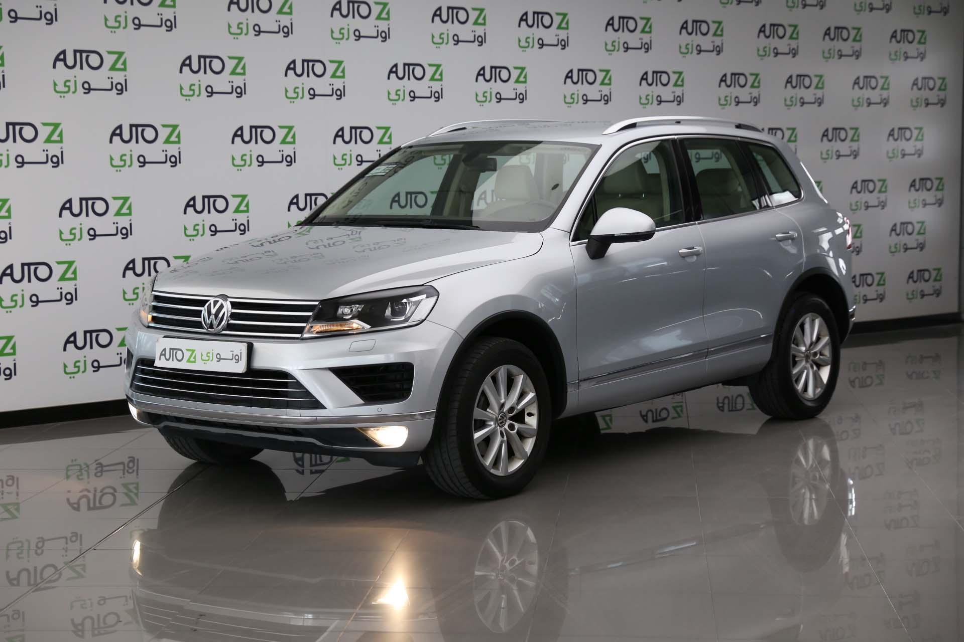 Volkswagen Touareg-2016—-Silver