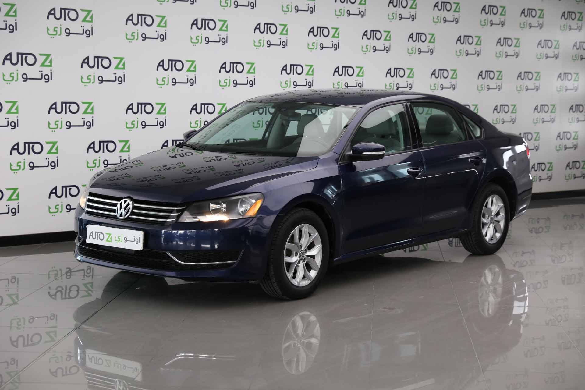 Volkswagen Passat SEL Dark-Blue -2013