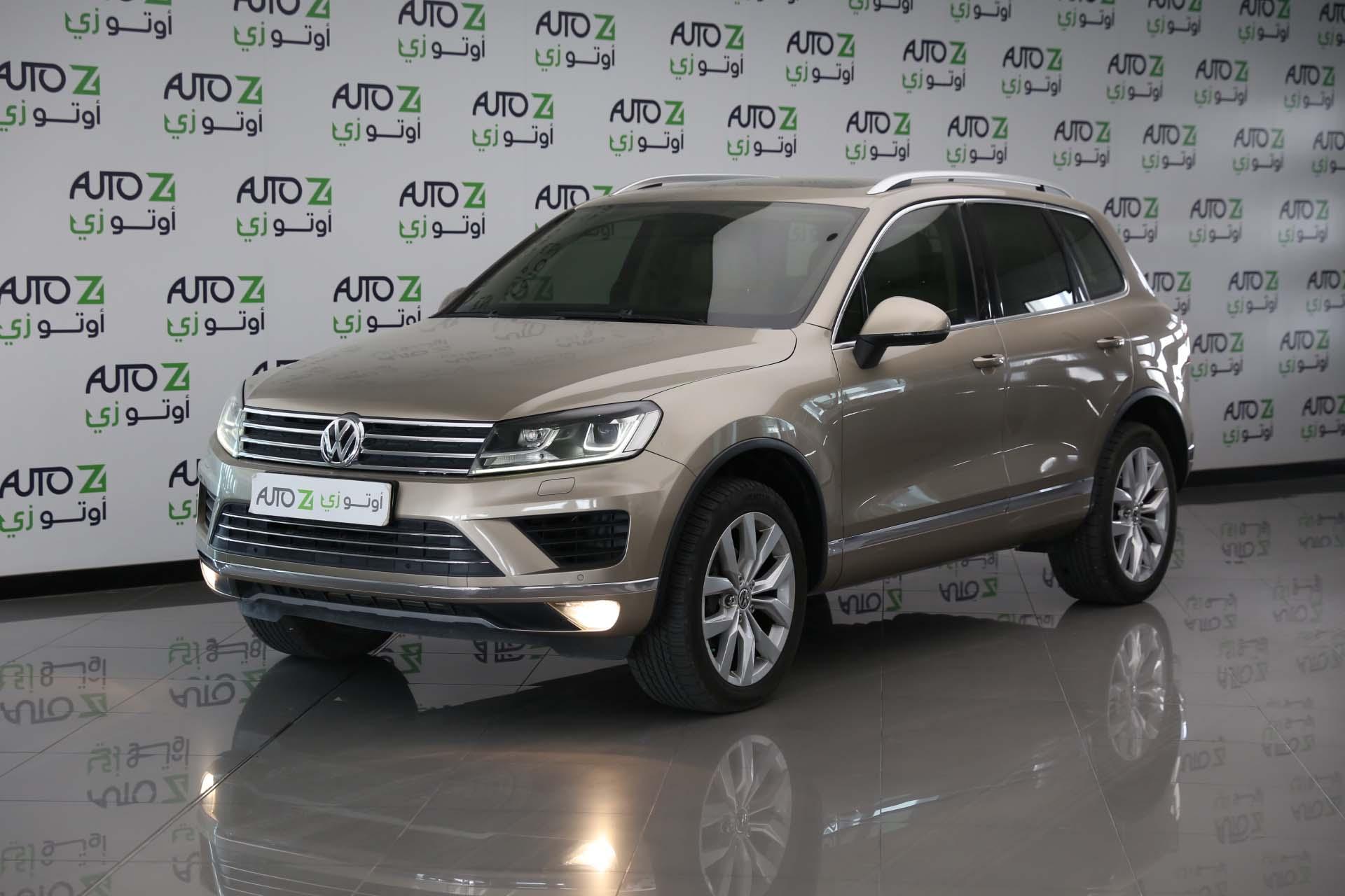 Volkswagen Touareg Sport—2015-Gold-