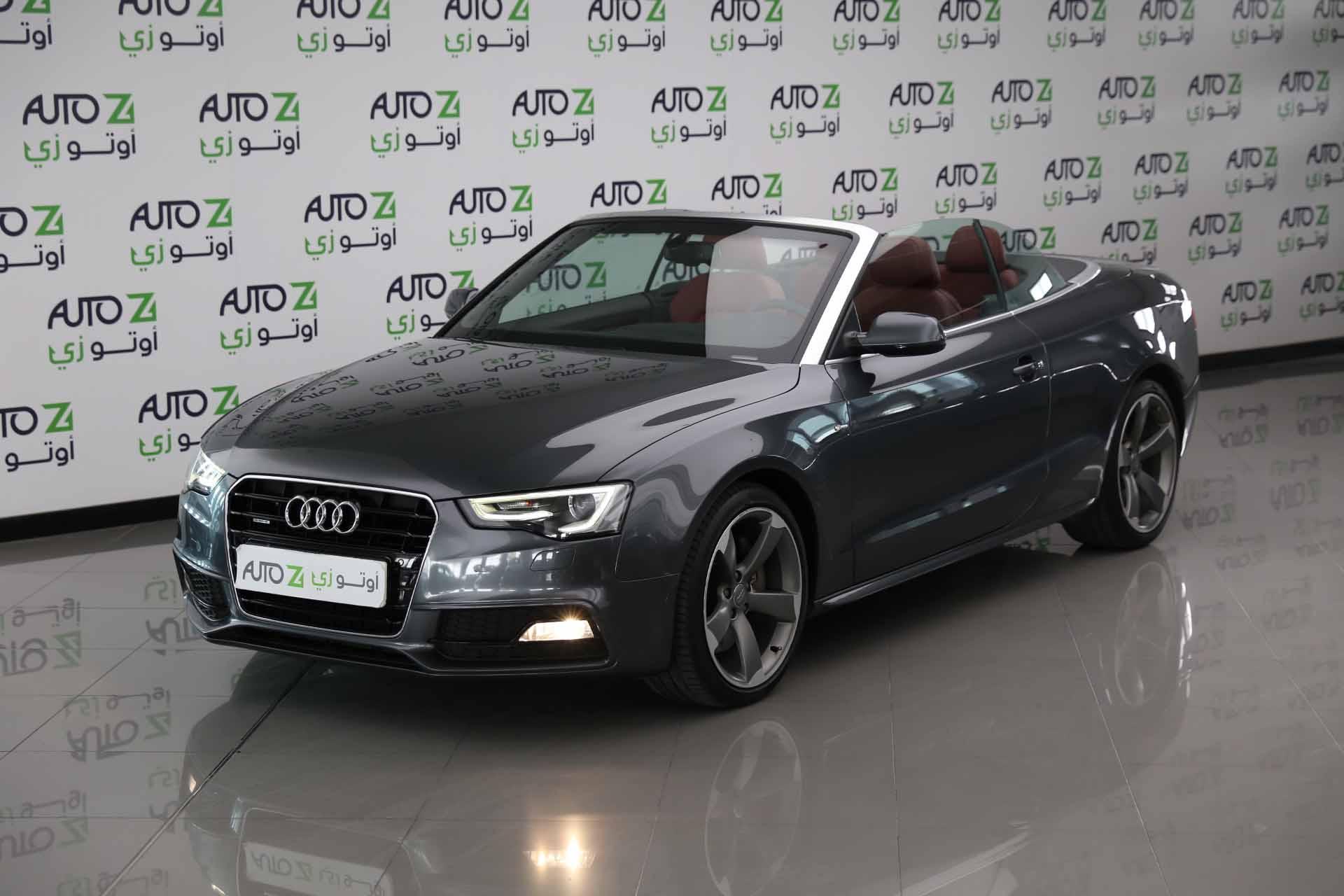 Audi A5 50 TFSI S-Line—2015-