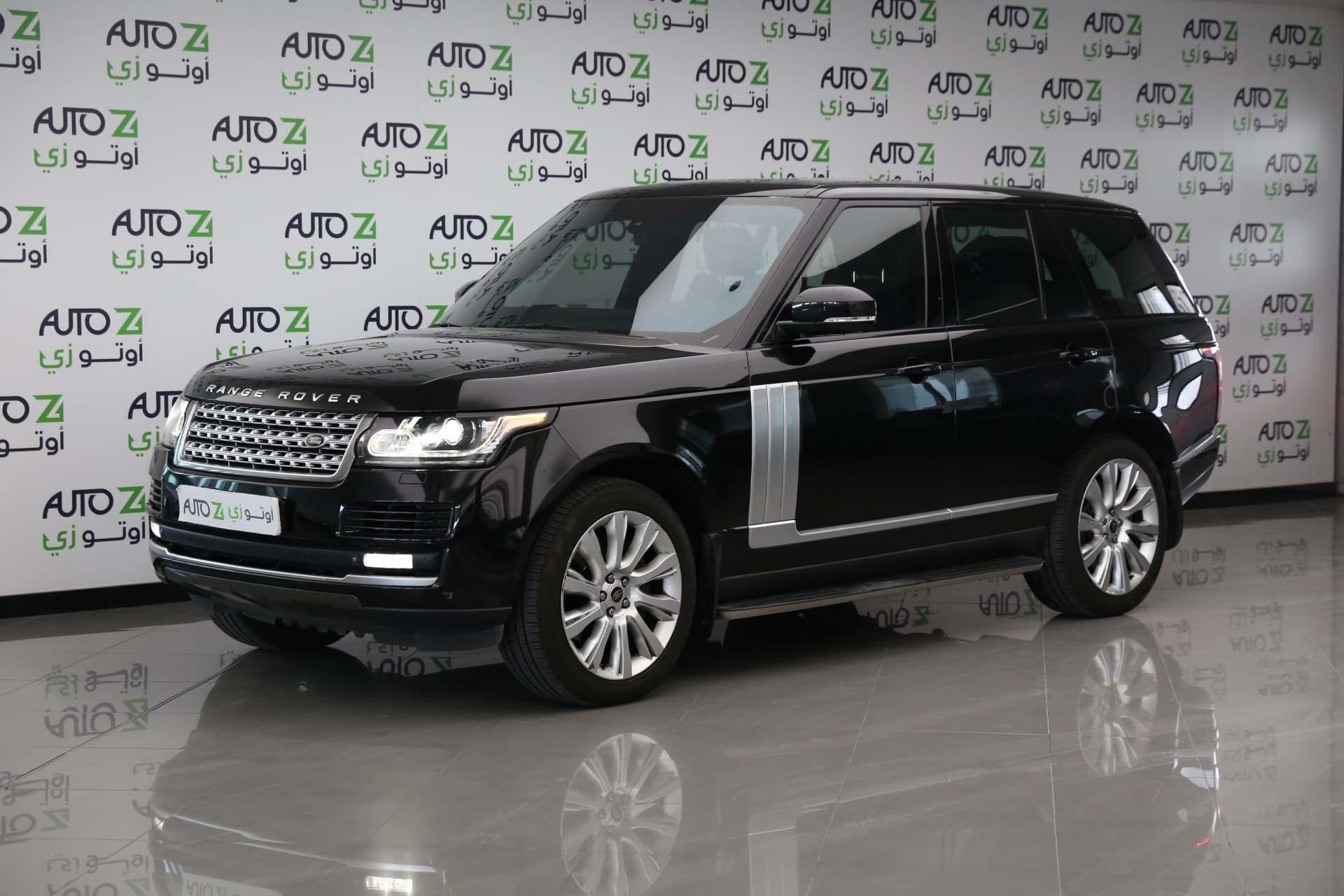 Range Rover Vogue Super Charged-2013—Black