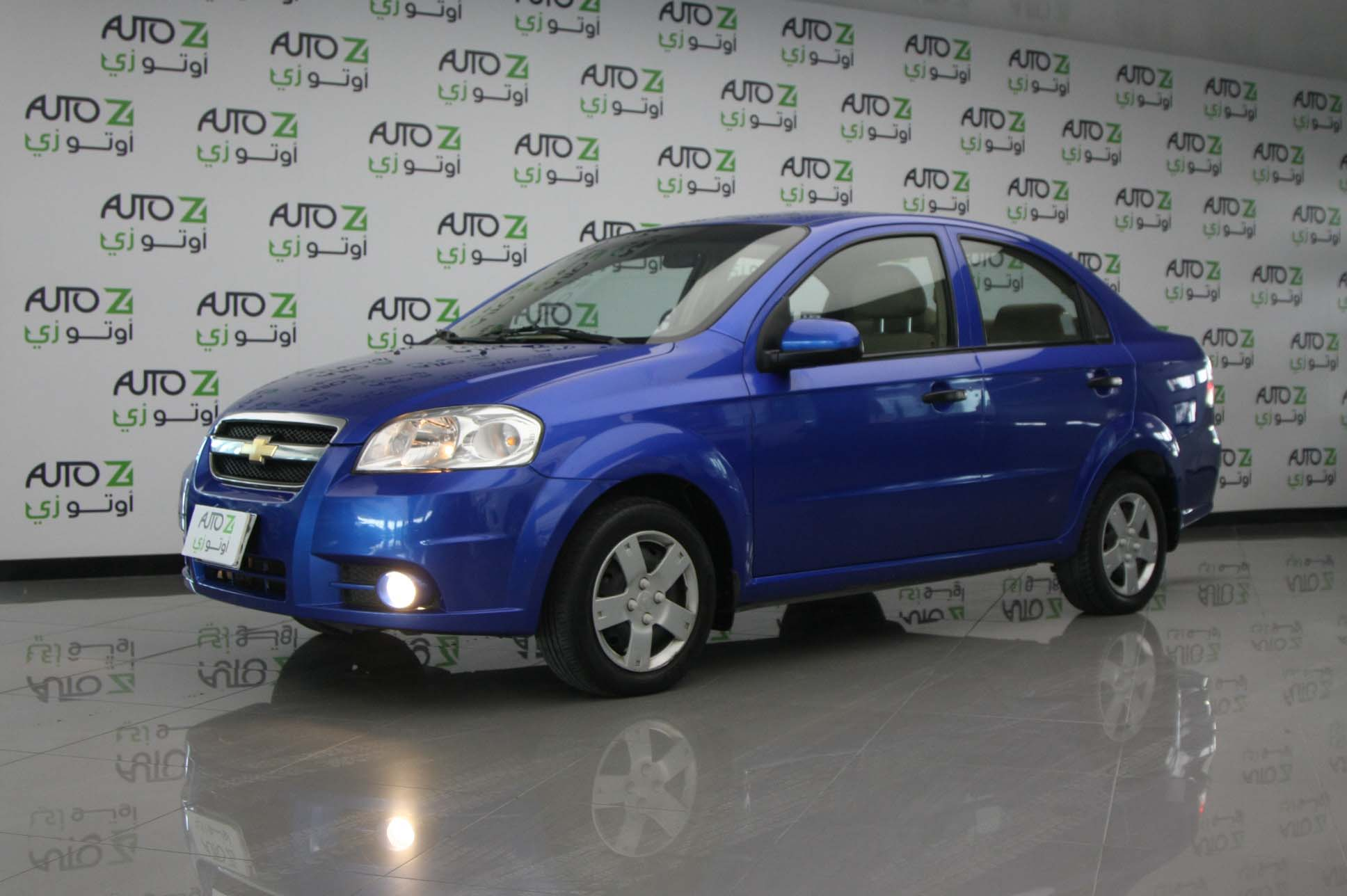 Chevrolet–Blue-Aveo LS 2016