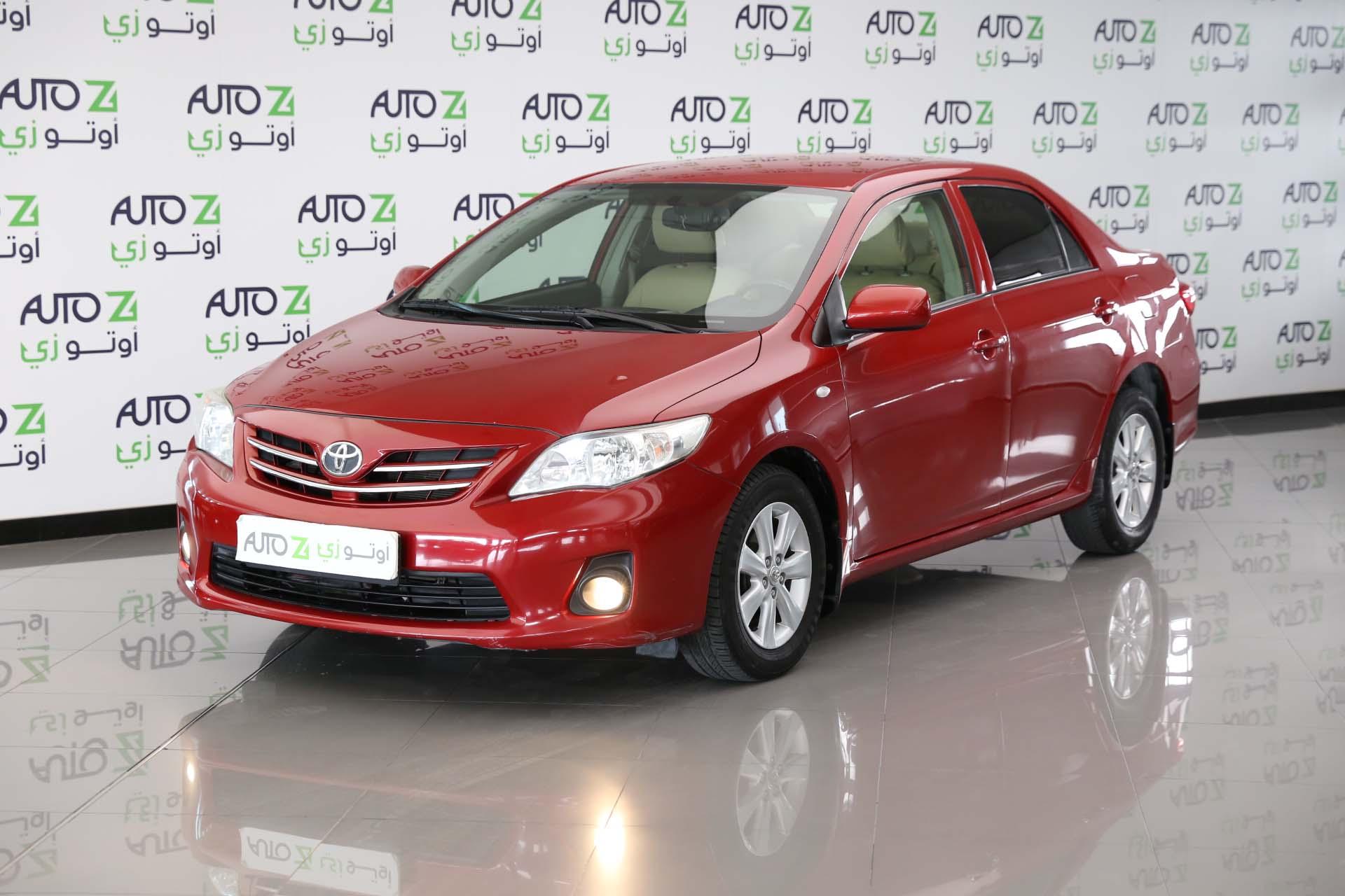 Corolla—XLI Toyota Red 2013