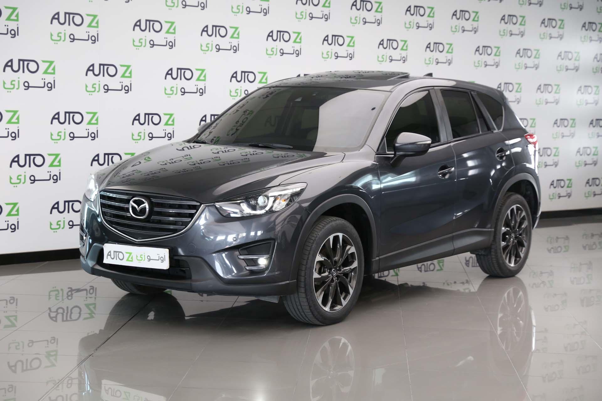 Mazda—CX–5-2017-Grey