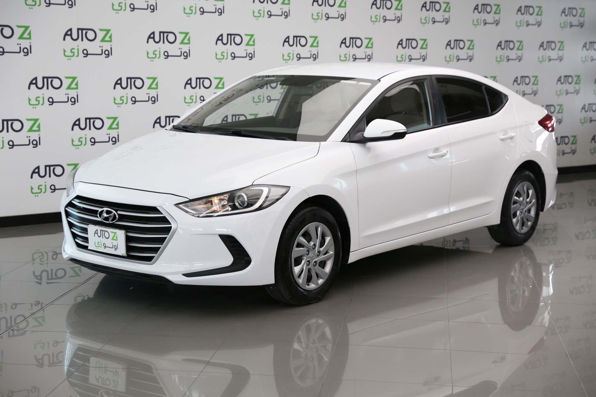 Hyundai Elantra-2017–White-2