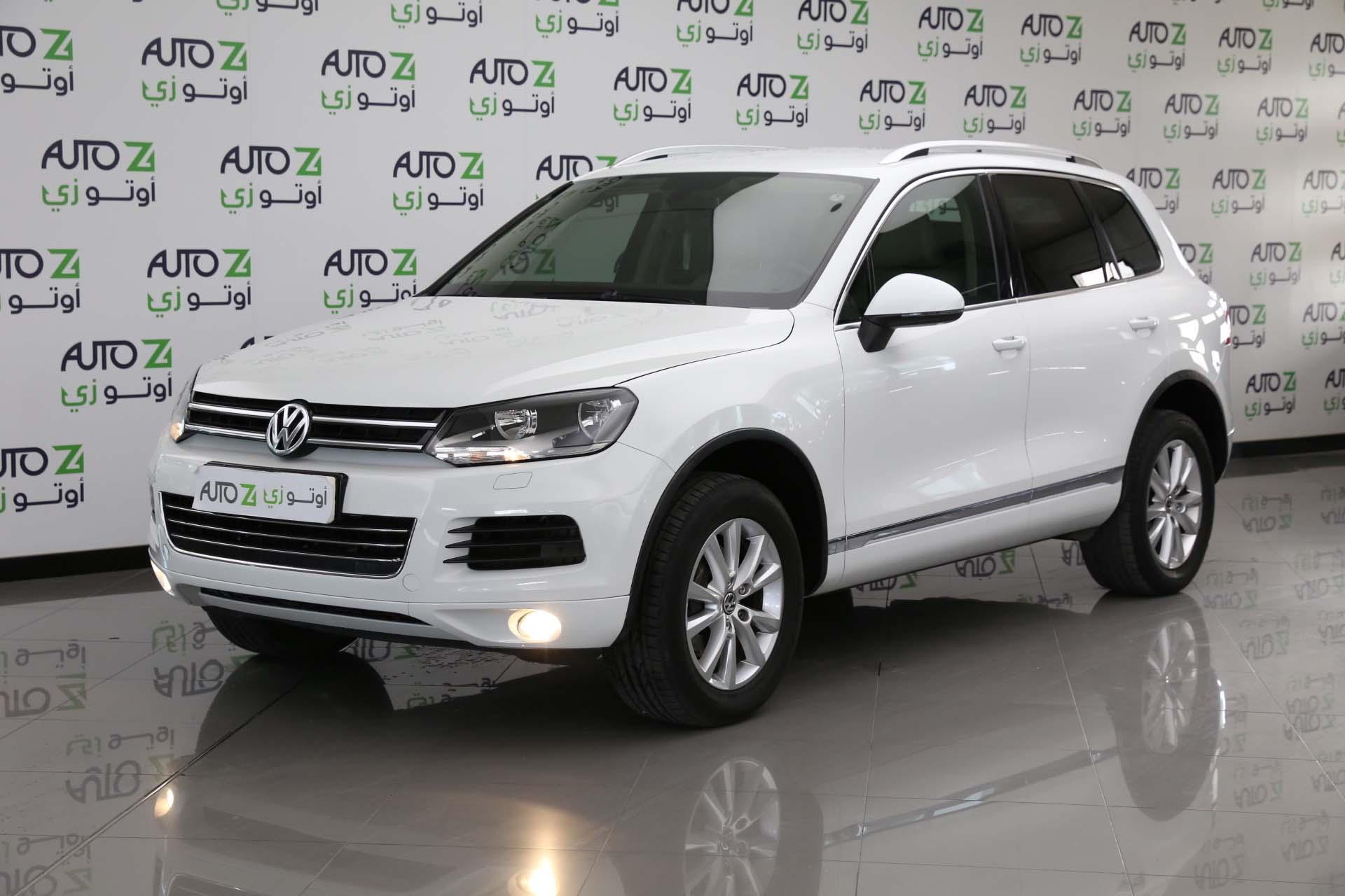Volkswagen Touareg—-2015-white