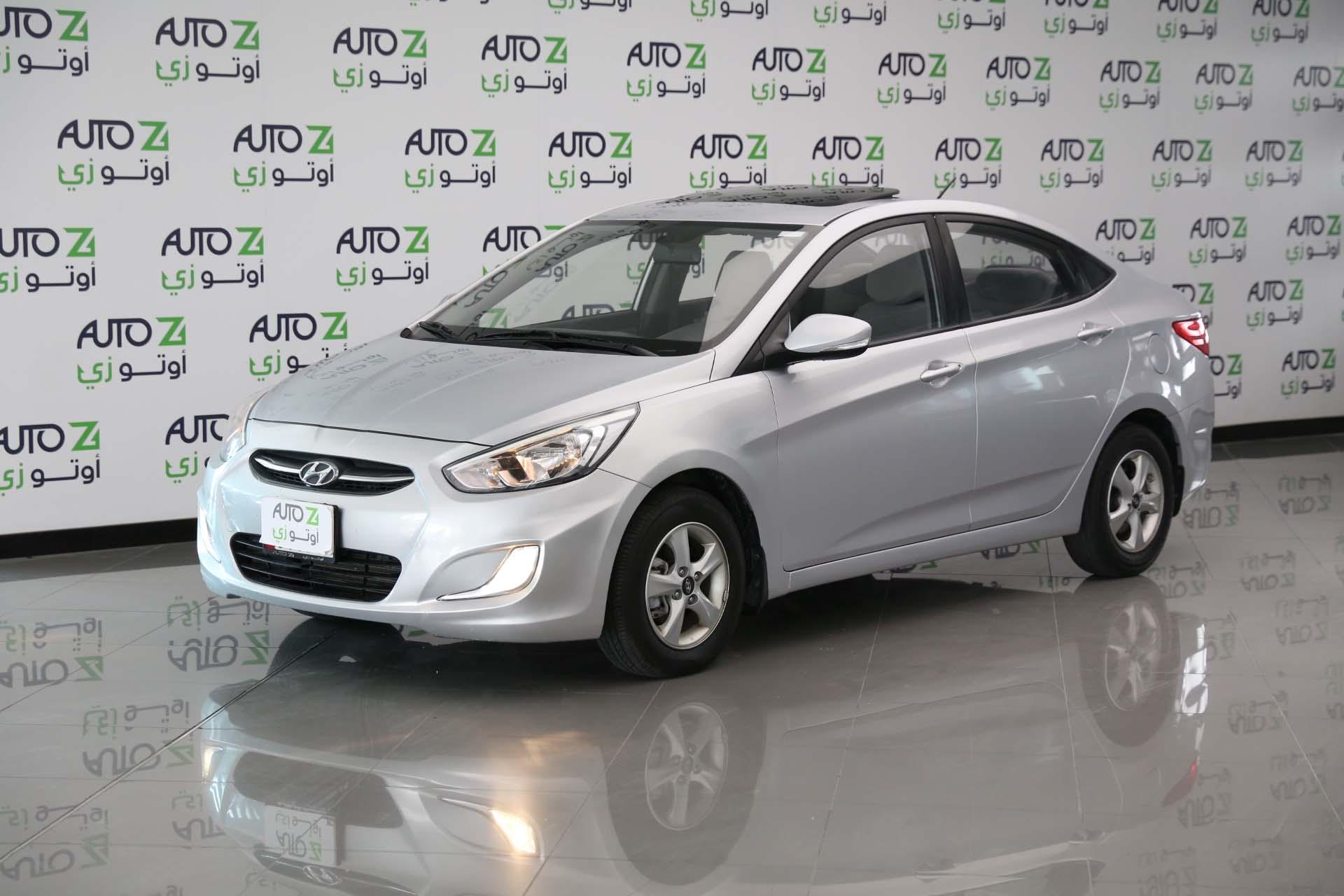 Hyundai Accent 1.6 -Silver