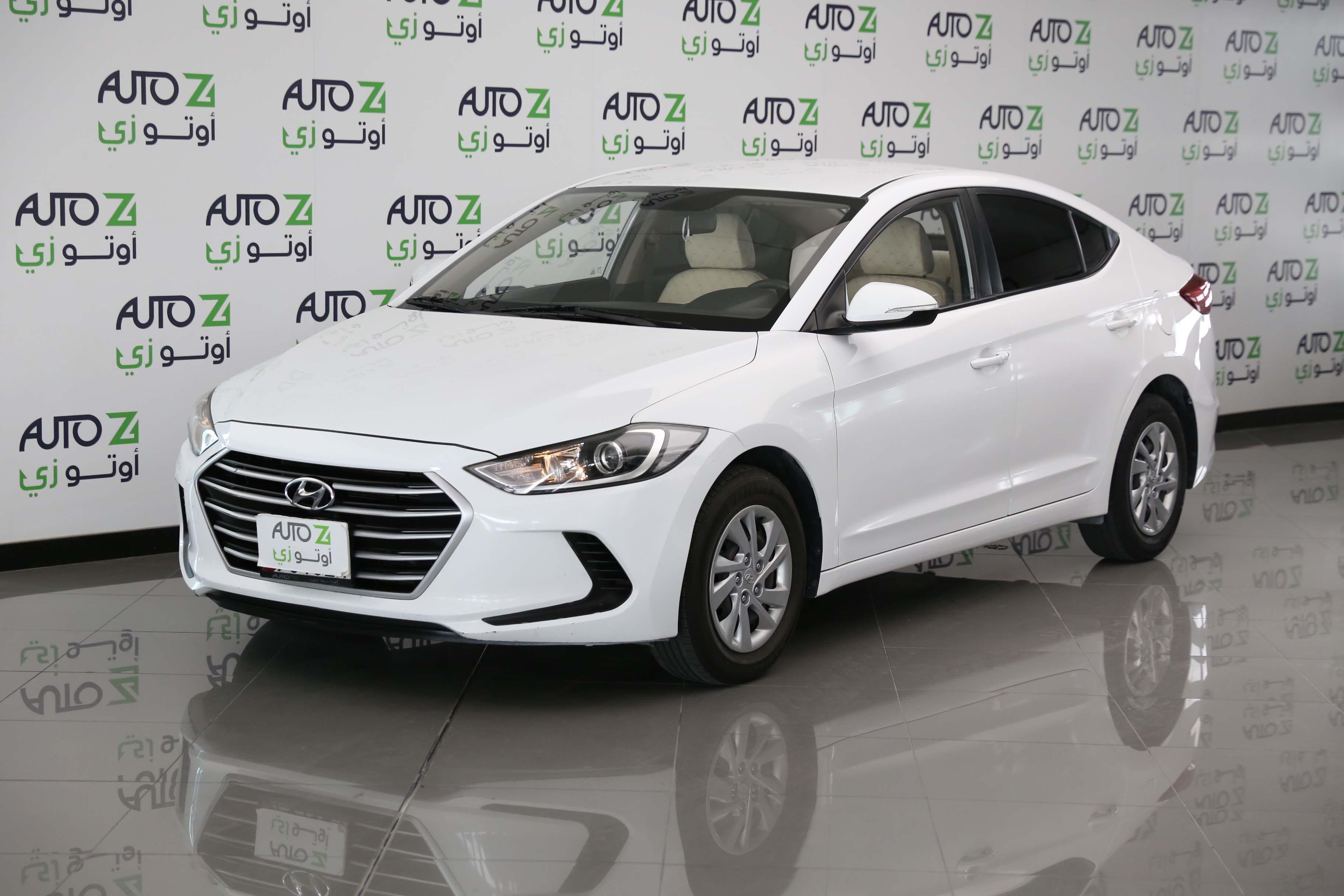 Hyundai Elantra -2017-White