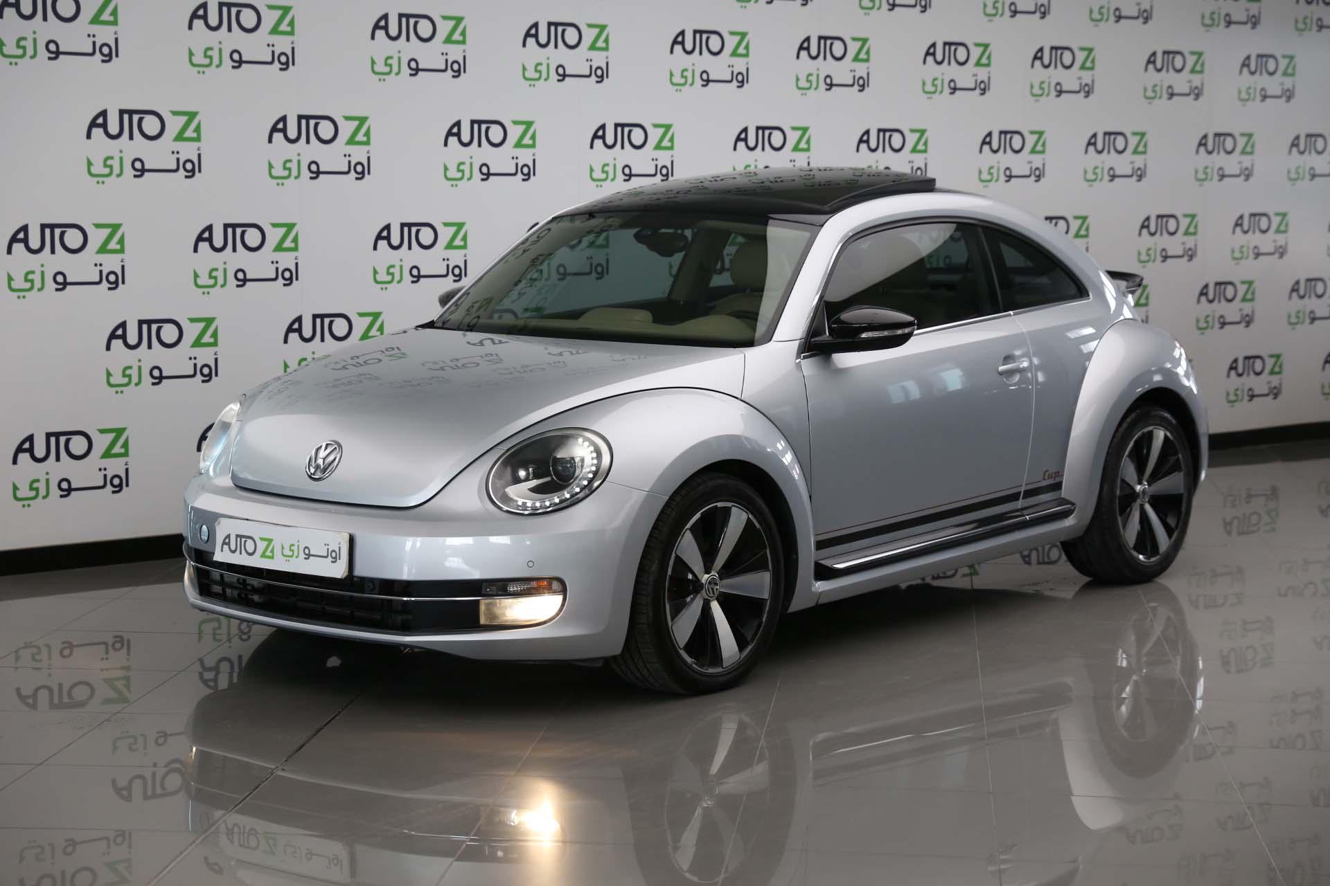 Volkswagen Beetle Turbo–2015-Silver