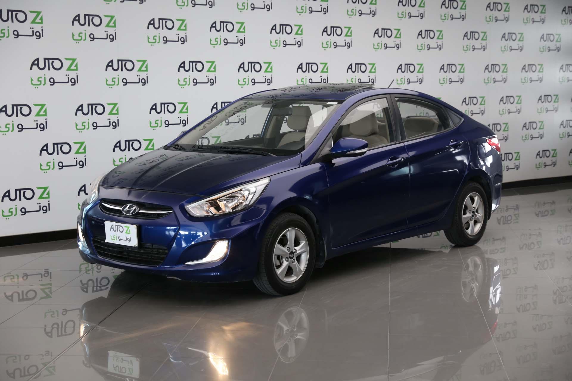 Hyundai Accent 1.6—2017-Blue