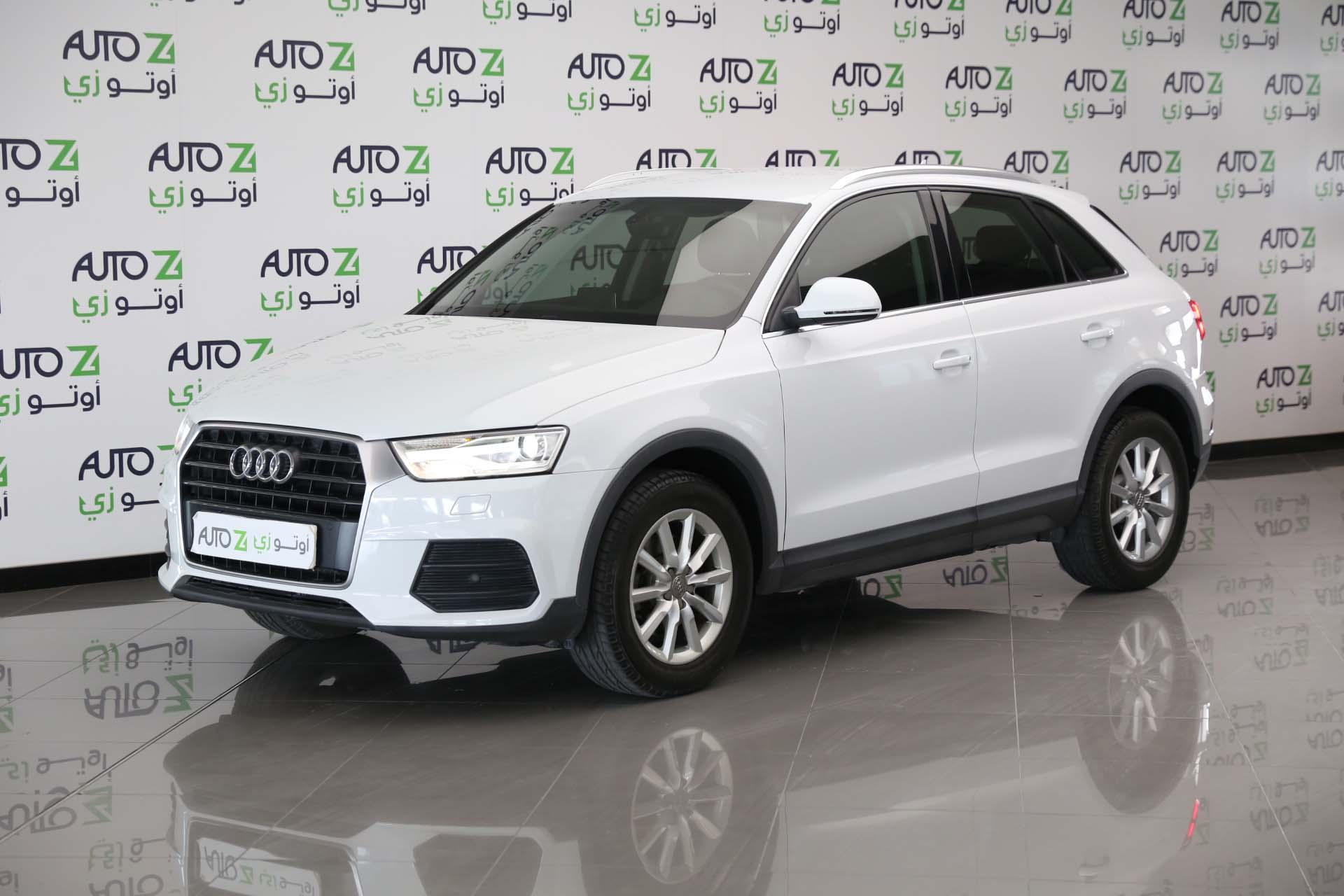 Audi Q3 3.0 TFSI–2018-White